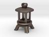 Japanese Stone Lantern B: Tritium (All Materials) 3d printed