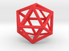 17cm-Icosahedron-Platon05-Polyhedron05 3d printed
