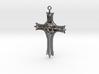 Skull Crucifix Pendant 3d printed