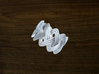 Turk's Head Knot Ring 3 Part X 11 Bight - Size 7 3d printed