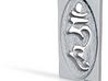 Hum Mantra Pendant 3d printed