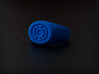 Blue Lantern Ring 3d printed Photo of the ring in Blue Strong & Flexible.
