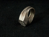 First Order Signet Ring (Size 10 1/4 - 20 mm) 3d printed Photo of the ring in Stainless Steel.
