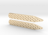 Honeycomb Inverse Collier Straighteners  3d printed this makes for a wonderful Christmas gift and can be made in most of the materials shapeways offers