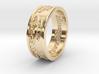 Sankofa Wedding Ring Size 7 Engraved 3d printed
