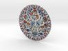 Iznik Polychrome Pottery Dish 3d printed