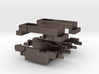 Alco C-855 N Scale Chassis Extenders X2 3d printed