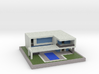 Minecraft House 3d printed