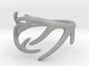 Antler Ring No.2(Size 8) 3d printed