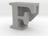 BandBit F, Fitbit Flex (Fits parallel to strap.) 3d printed