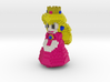 Princess Peach 3d printed