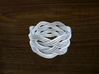 Turk's Head Knot Ring 5 Part X 6 Bight - Size 13.2 3d printed