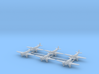 Caproni Ca.311 (with landing gear) 1/700 3d printed