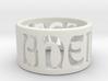 Adem Ring Final 3d printed