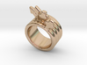 Love Forever Ring 21 - Italian Size 21 3d printed