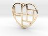 Mondrian Heart 3d printed