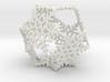Octahedral Snowflakes 2 3d printed