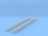 4x Querjoch 4-spurig (N 1:160) 3d printed