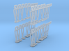 Hänger, Isolatoren (50-teilig) (N 1:160) 3d printed