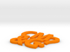 Coaster #1 - CM&G logo 3d printed