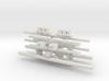 Traffic Light Signal Pole Unassembled Static (Set  3d printed