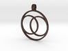 [The 100] (Small) Coalition Symbol Pendant 3d printed