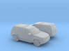1/160 2X 2000-07 Ford Escape XLT 3d printed