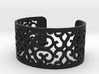 Arabesque perforated bracelet 3d printed