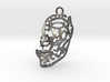 Nefertiti - face - pendant 3d printed