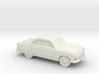1/87 1949 Ford  Fordor Sedan 3d printed