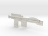 Trooper Blaster Full Size - (Left Half Only) 3d printed