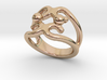 Two Bubbles Ring 23 - Italian Size 23 3d printed