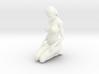 2016001-Ponytail girl in 15cm 3d printed