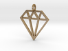 Pendant 'Diamond' 3d printed
