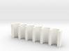 Nerf Dart Holder for Nerf Tactical Rail System 3d printed