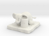 Elephant Pen holder 3d printed