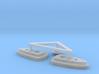 BSG Frigate Top Sensor Dome And Burners 3d printed
