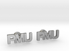 Monogram Cufflinks PMU 3d printed