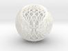 Epicycloid, 3 cusp sphere 3d printed