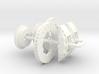 1/18 Modern 11.6 Inch Diam 6 Piston Disk Brake Set 3d printed