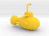 Yellow Submarine 3d printed
