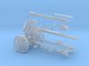 """GA003 LeFH18/40 """"Howitzer"""" 105mm 28mm wargames 3d printed"""