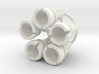 Towball Female Crossaxle 5 Piece Set 3d printed