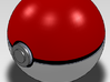 Little Pokeball for belt 3d printed Little pokéball
