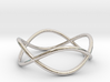 Size 6 Infinity Ring 3d printed