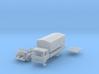 Vierer-Club-LKW Pritsche mit Plane (TT 1:120) 3d printed