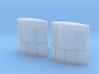 N Scale Trailer Refrigerator 3d printed