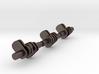 3 ejes H0 para locomotora vapor 3,2 mm 3d printed
