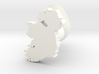 Fermanagh Cufflink 3d printed
