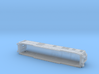 SNCF French Mistral Generator Wagon 1/160 N-Scale 3d printed